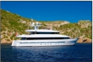 Heesen yacht for charter in Ibiza